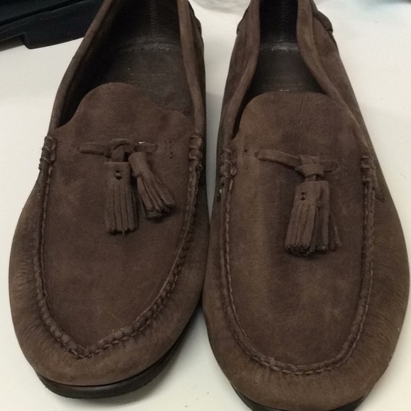 539da3cfdd5 Brooks Brothers Other - Brooks Brothers suede chocolate colored loafers